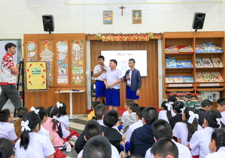 December 11, 2019 Morning Assembly P4-P6 Christmas Presentation