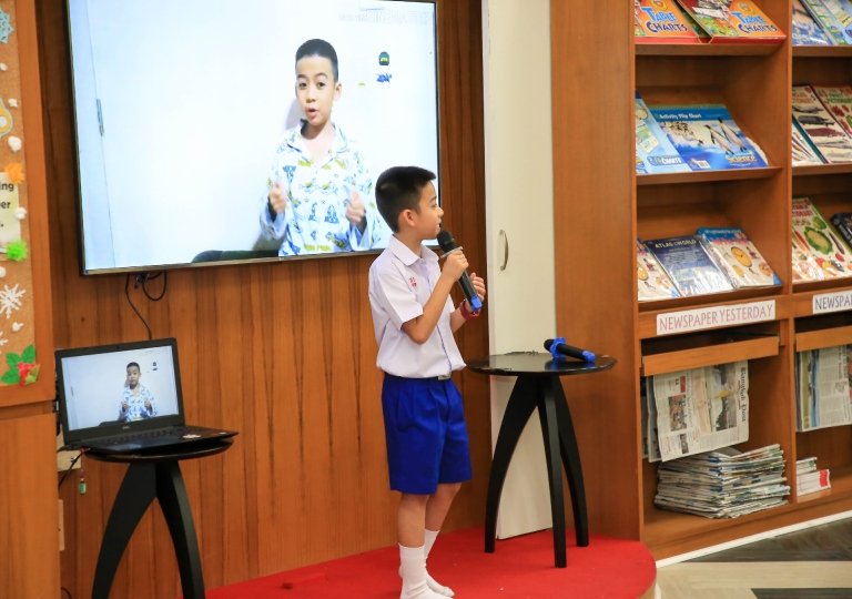January 20, 2020 P1-P3 Special Feature Presentation Morning Assembly