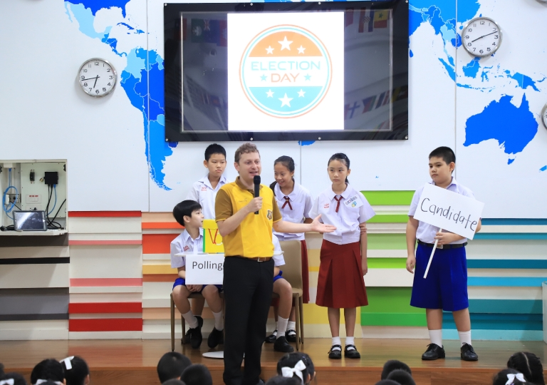 June 5, 2019 Morning Assembly P4-P6 Presentation Election