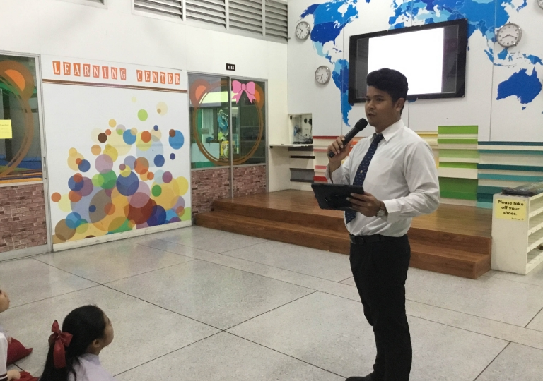 May 30, 2019 Morning Assembly M4-M6 Presentation about Democracy