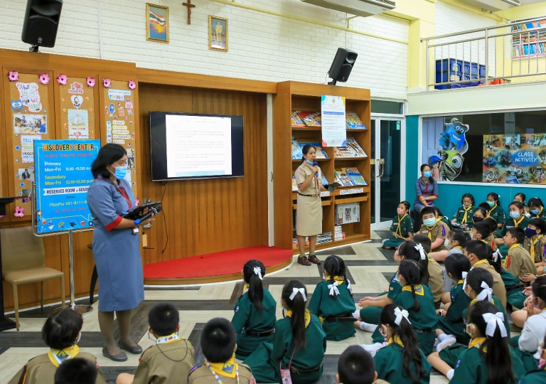 October 6, 2020 Morning Assembly. Self- responsibility & In Loving Memory ,King Rama IX . The Great king in our heart.